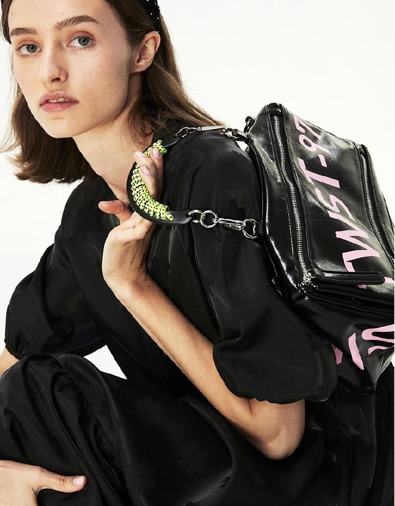 Black Floral Jacquard Dress