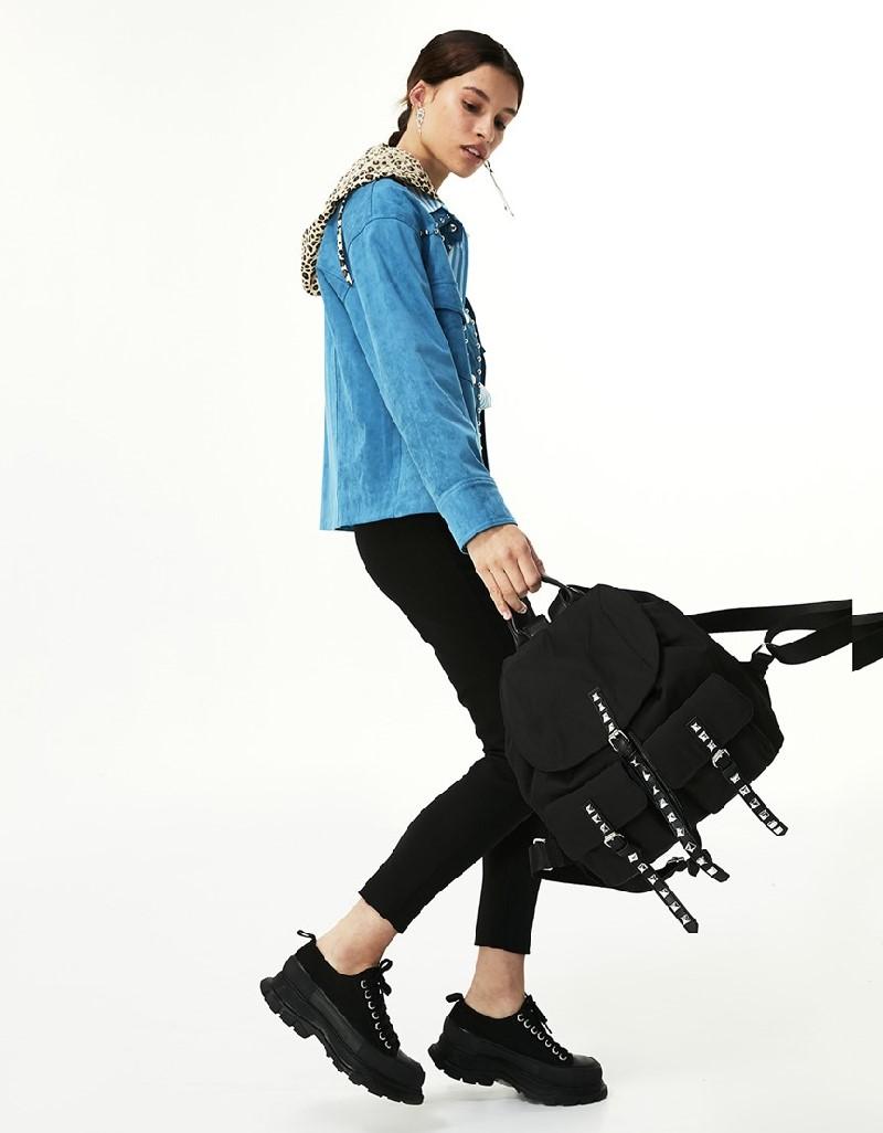 Blue Trok Striped Jacket