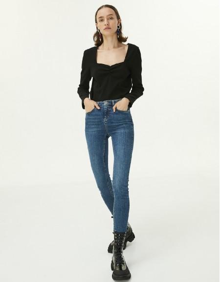 Indigo Skinny Fit Jean Trousers