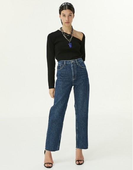 Indigo Straight Fit Jeans