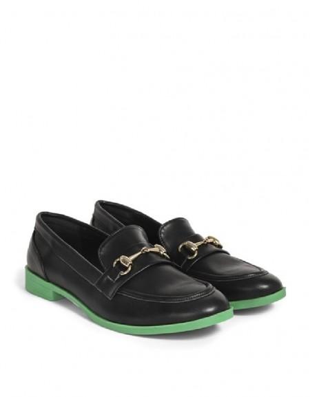 Black Colorful Sole Shoes