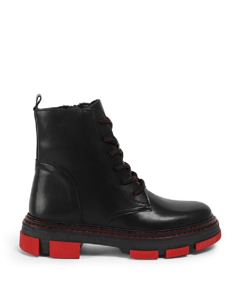 Black Color Sole Boots