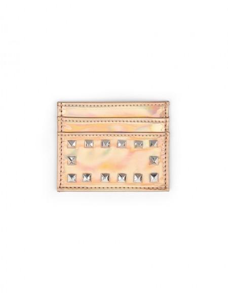 Pink Business Card Holder
