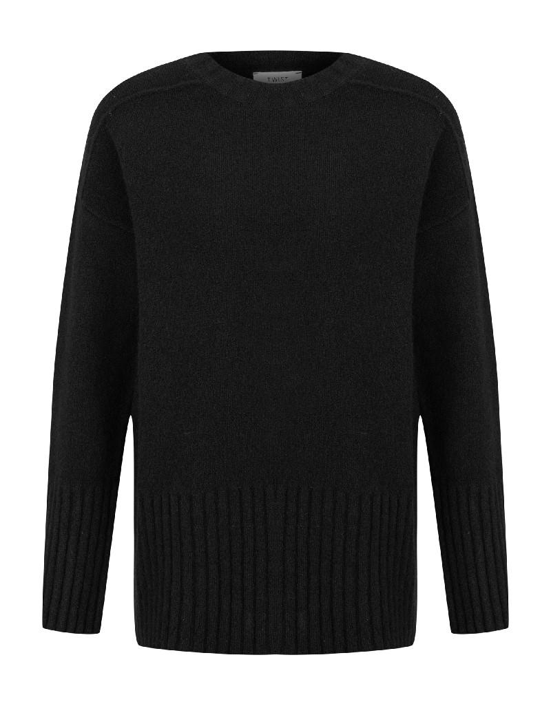 Black Basic Sweater
