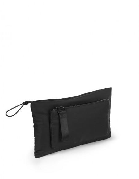 Black Double Pocket Bag