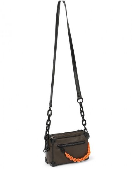 Purple Chain Pass Sleeve Bag