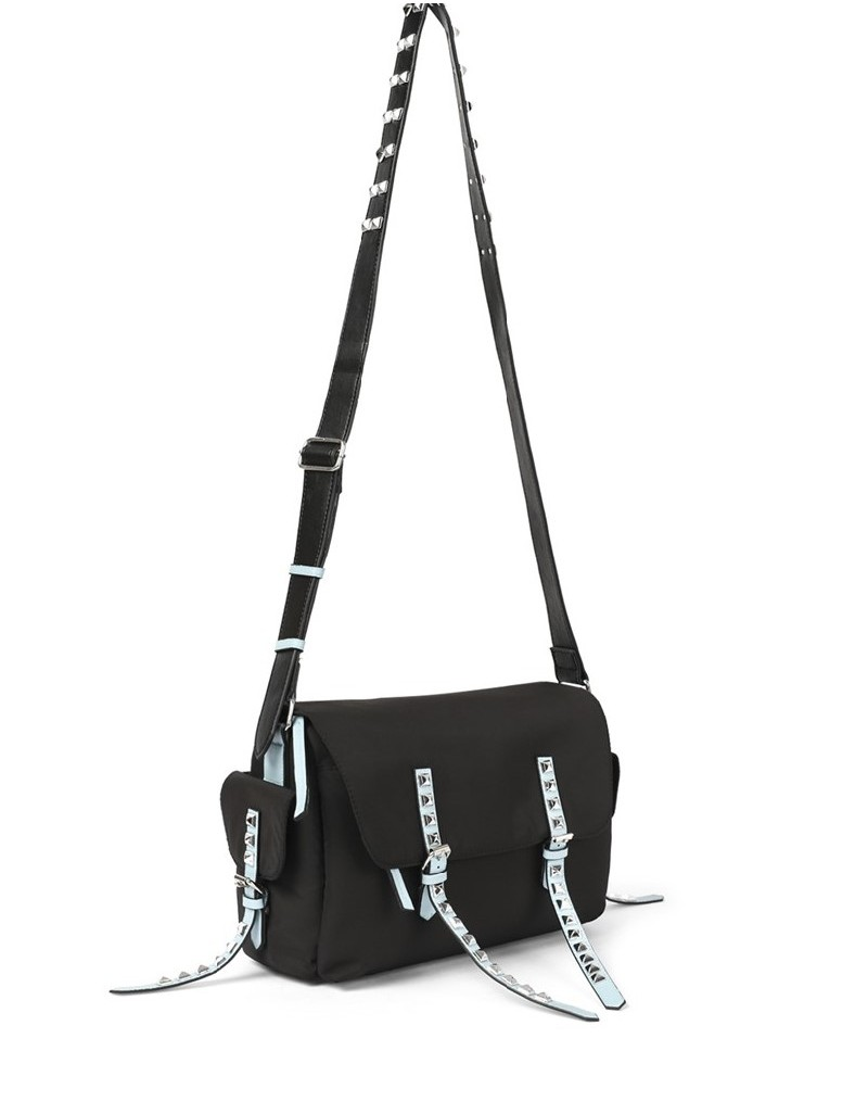 Black Trok Print Sleeve Bag