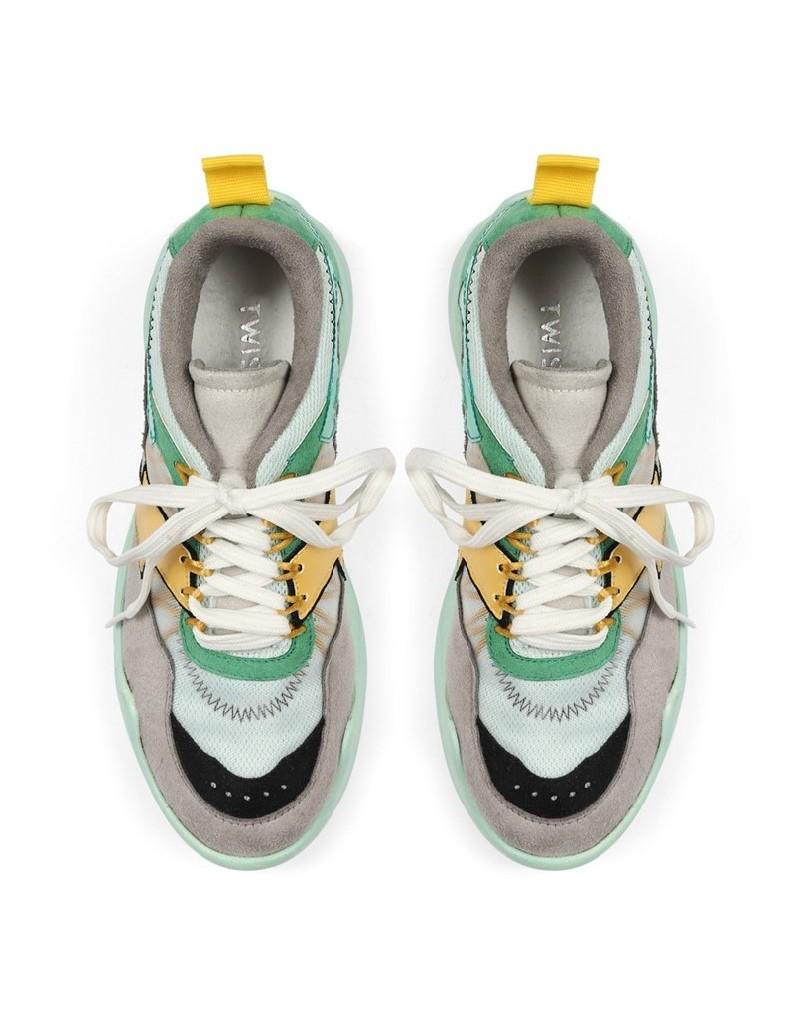 Blue Color Transition Sneaker