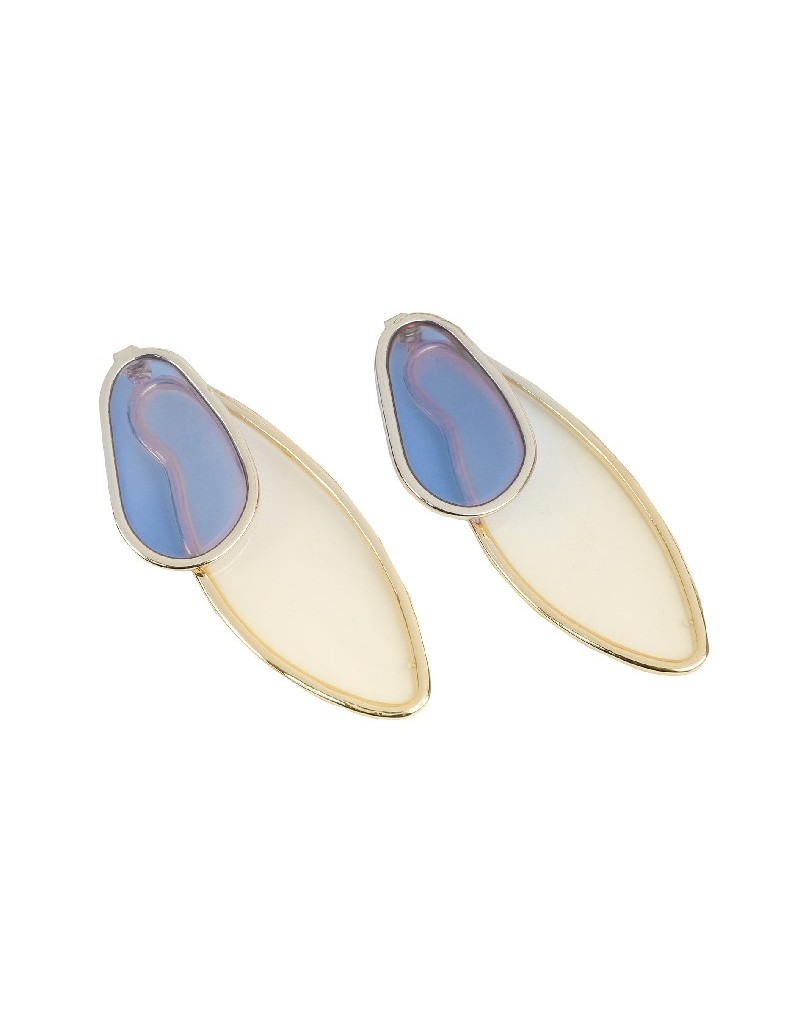 Blue Color Transition Earrings
