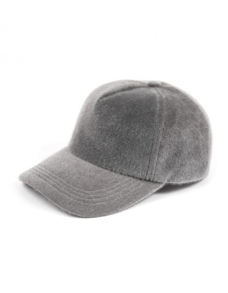 Gray Thai Feather Hat