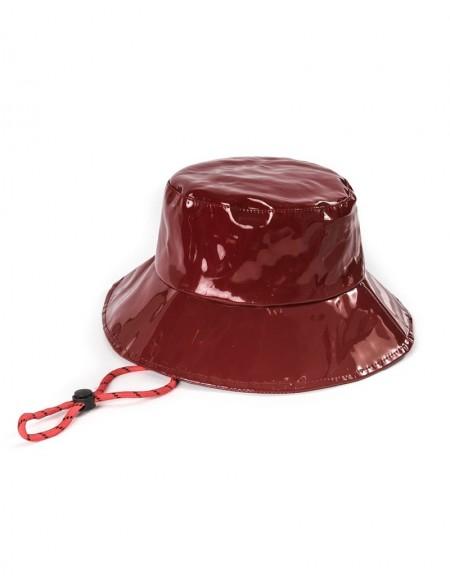 Orange Bidirectional Hat