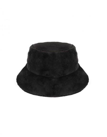 Black Wool Cap
