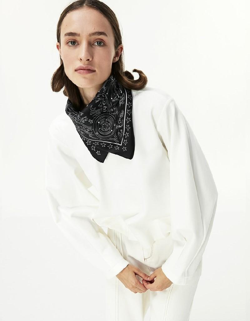 Beige Over Size Sweatshirt