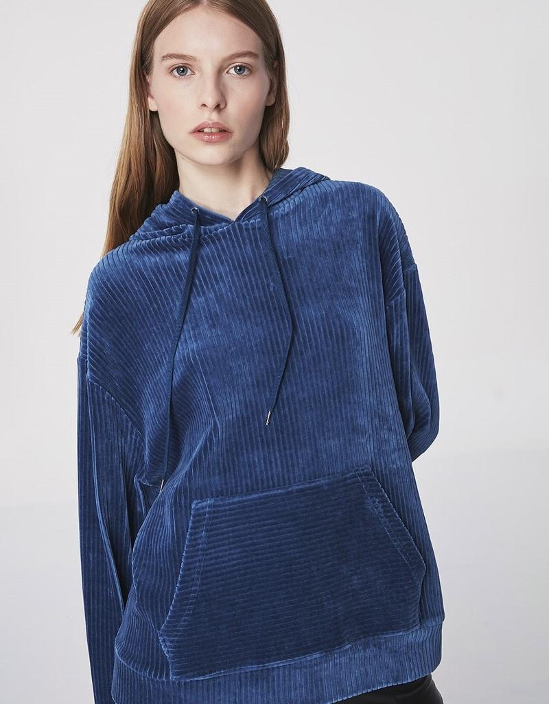 Blue Velvet Sweatshirt